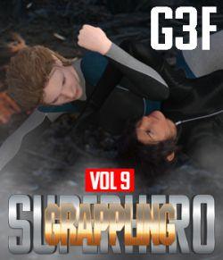 SuperHero Grappling for G3F Volume 9