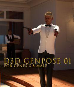 GenPose 01 for Genesis 8 Male