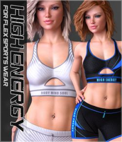 High Energy for Flex Sports Wear G8F