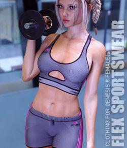 Flex Sportswear for Genesis 8 Females