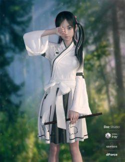 dForce Modern Kimono for Genesis 8 Female(s)