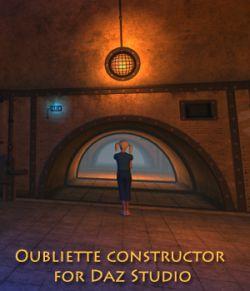 Oubliette constructor for Daz Studio