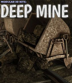 Modular 3D Kits: Deep Mine