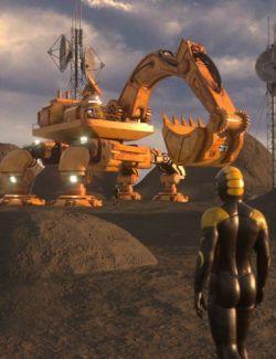 Sci-Fi Excavator