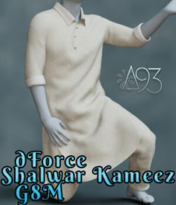 a93- dForce Shalwar Kameez for G8M