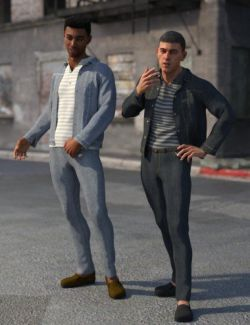 dForce Urban Streetwear for Genesis 8 Male(s)