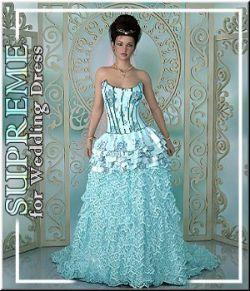 SUPREME- Wedding Dress