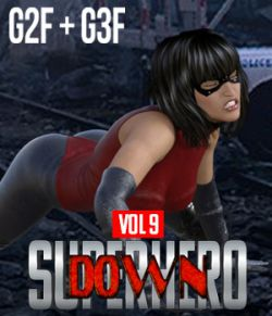 SuperHero Down for G2F and G3F Volume 9