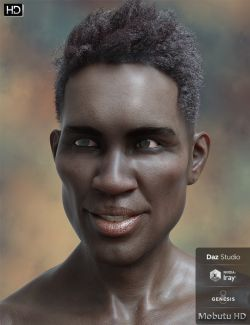 Mobutu HD for Genesis 8 Male