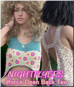Nightflyers - Open Back Tee