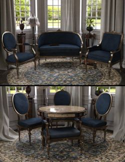 Vintage Furniture Iray