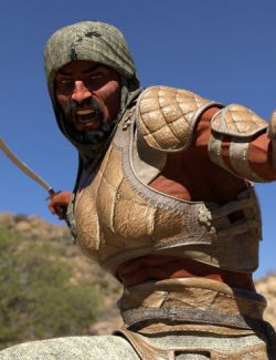 Bedu Desert Warrior Outfit for Genesis 8 Male(s)