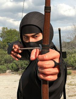 Ninjitsu Weapons for Genesis 8 Male