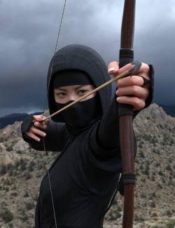Ninjitsu Weapons for Genesis 8 Female