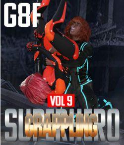 SuperHero Grappling for G8F Volume 9