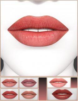Merchant Resource Lips 1 for Genesis 8 Female