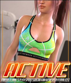 Active for Flex Sportswear for Genesis 8 Female(s)