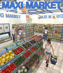 Mini Market for Poser