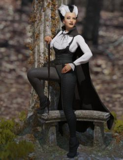 dForce Countessa Outfit for Genesis 8 Female(s)