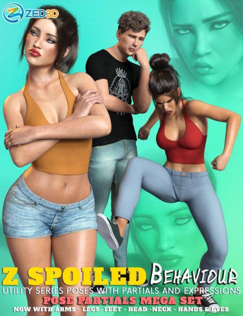 Z Spoiled Behavior Pose Mega Set