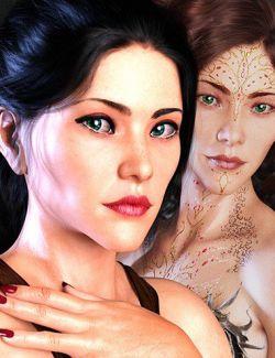 Katherine HD for Genesis 8 Female