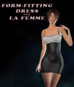 Form-Fitting Dress for La Femme