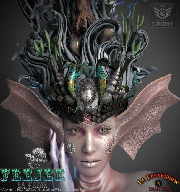 FEEJEE La Freak Headdress-POSER La Femme