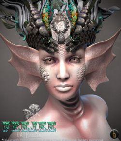 FEEJEE La Freak Character Kit POSER-LA FEMME