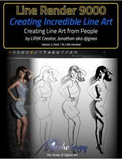 Creating Incredible Line Art with Line Render 9000: Creating Line Art from People
