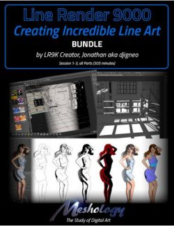 Creating Incredible Line Art with Line Render 9000 - Bundle