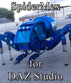 SpiderMex for DAZ Studio