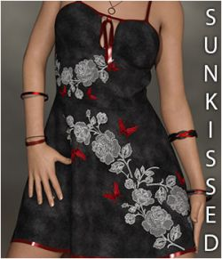 Sunkissed for Alika Candy Dress