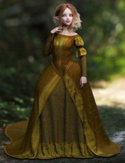 dForce Gown of Fantasy 1 for Genesis 8 Female(s)