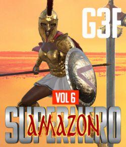 SuperHero Amazon for G3F Volume 6