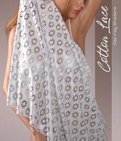 Daz Iray - Cotton Laces
