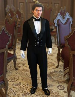 dForce Victorian Butler For Genesis 8 Male(s)