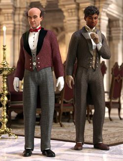 dForce Victorian Butler : Jeeves