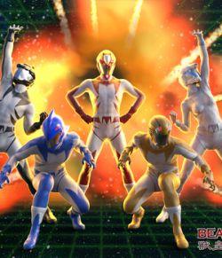 Beast Ranger For Genesis 8