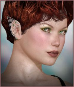 Nevaeh Wings and Ear Cuffs V4