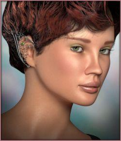 Nevaeh Wings and Ear Cuffs La Femme