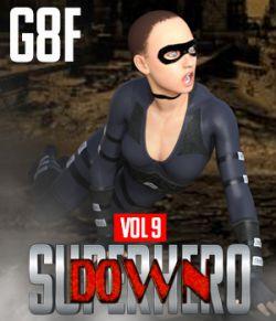 SuperHero Down for G8F Volume 9