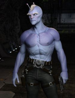 Planetary Smuggler HD for Genesis 8 Male