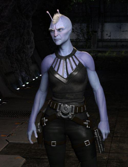 Planetary Smuggler HD for Genesis 8 Female