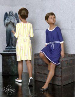 Klareyn dForce Dress for Genesis 8 Female(s)