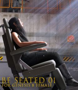 Be Seated 01 for Genesis 8 Female