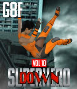SuperHero Down for G8F Volume 10