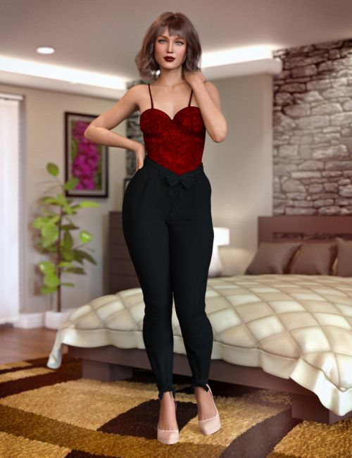 City Girl Outfit for Genesis 8 Female(s)
