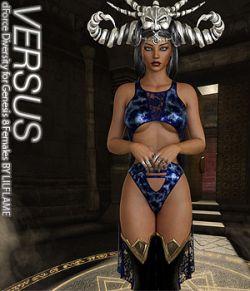 VERSUS- dForce Diversity for Genesis 8 Females