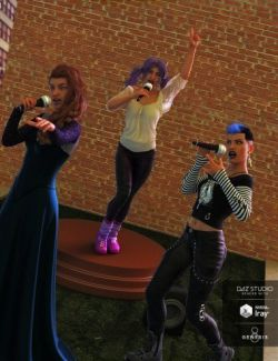 The Singer Prop N Poses for Genesis 3 and 8 Female(s)