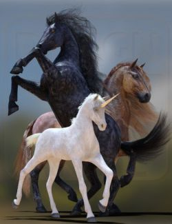 DA dForce Mane and Tail for Horse 2